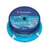 Verbatim Crystal CD-R DLP 700MB/80min. 48x, 25-cake
