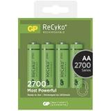 GP ReCyko+ AA, HR06, 2700mAh, Ni-MH, krabička 4ks