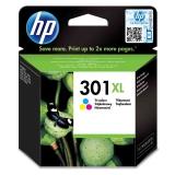 HP Deskjet No. 301XL, 330 stran - originální červená/modrá/žlutá