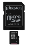 Kingston MicroSDHC 32GB Class4  + adapter