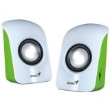 Genius SP-U115 2.0 bílá/zelená