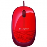 Logitech USB Mouse M105 červená
