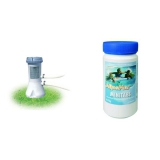 Set (Kartušová filtrace Marimex 2 m3/h, 10620005) + (Bazénová chemie Marimex Minitabs_Mini Tablety 0,9 kg)
