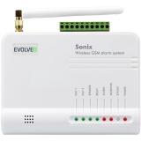 Evolveo Sonix, bezdrátový, GSM bílý