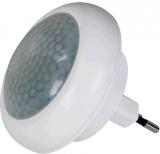 EMOS do zásuvky, 8 x LED s PIR čidlem bílé