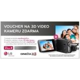 Voucher LG 3D kamera