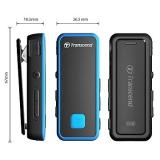 Transcend MP350 8GB černý/modrý