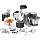Bosch MUM57860 černý/stříbrný