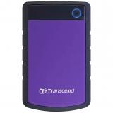 Transcend StoreJet 25H3P 2TB černý/fialový