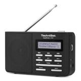 Technisat DAB210 černý/stříbrný