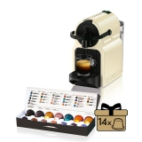 DeLonghi Nespresso Inissia EN80CW krémové