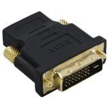 Hama DVI / HDMI, pozlacená černá