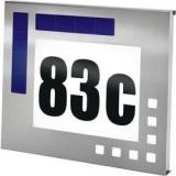 CNR Esotec nerezové LED domovního čísla