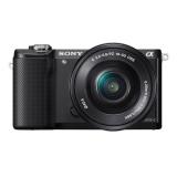 Sony Alpha A5000 + 16-50mm černý