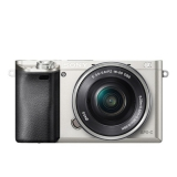 Sony Alpha A6000 + 16-50mm stříbrný