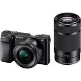 Sony Alpha A6000 + 16-50mm + 55-210mm černý