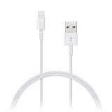 Connect IT USB A/LIGHTNING B, 1m bílý