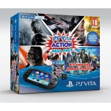 Sony PS VITA PCH-2016 Action Mega Pack + 5 her + paměťová karta 8GB černá
