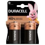 Duracell Basic D, LR20, blistr 2ks