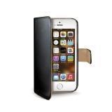Celly WALLY pro iPhone 5 černé