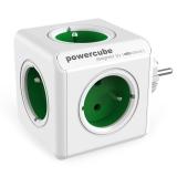 Powercube Original 5x zásuvka bílá/zelená