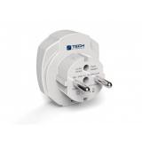 TECH TBU-969 pro EU, 2x USB bílý