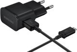 Samsung EP-TA12U, 1x USB, 2A + MicroUSB kabel černá