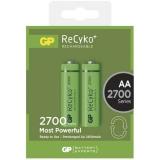 GP ReCyko+ AA, HR06, 2700mAh, Ni-MH, krabička 2ks
