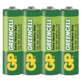 GP Greencell AA, R06, fólie 4ks