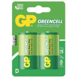 GP Greencell D, R20, blistr 2ks