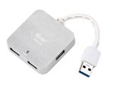 i-tec USB 3.0 / 4x USB 3.0 stříbrný