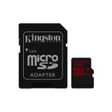Kingston MicroSDHC 32GB UHS-I U3 (90R/80W) + adapter