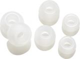 Vivanco silikonové pady pro mikrosluchátka, 6ks bílé