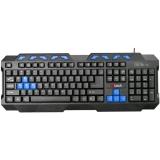 C-Tech GMK-102-B, CZ/SK černá/modrá