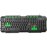 C-Tech GMK-102-G, CZ/SK černá/zelená