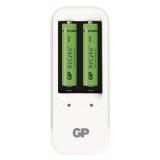 GP PB410 pro AA, AAA + 2x AAA ReCyko+ (850mAh) bílá
