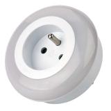 EMOS do zásuvky, 3 x LED bílé