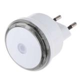 EMOS do zásuvky, 3 x LED s fotosenzorem bílé