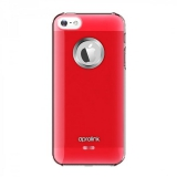 Aprolink Aluminium Ring pro iPhone 5s růžový