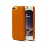 Aprolink Ultimate-thin leather back cover pro iPhone 6 oranžový