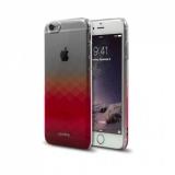 Aprolink Gradient Clear Case pro iPhone 6/6s růžový