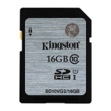 Kingston SDHC 16GB UHS-I U1 (45R/10W)