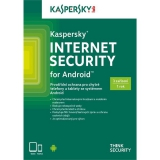 Kaspersky Internet Security ANDROID 3 licence na 1 rok