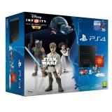 Sony PlayStation 4 500GB + hra Disney Infinity 3.0: Star Wars černá