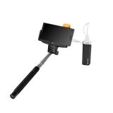 GoGEN 2in1, selfie tyč, power bank černá