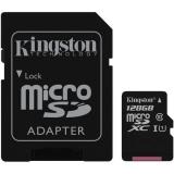 Kingston MicroSDXC 128GB UHS-I U1 (45R/10W) + adapter