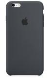 Apple Silicone Case pro iPhone 6/6s - uhlově šedý