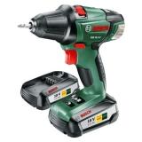 Bosch PSR 18 LI-2 (2 aku, 2,5 Ah)  zelená