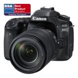 Canon EOS 80D + 18-135 IS USM černý
