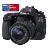 Canon EOS 80D + 18-55 IS STM černý